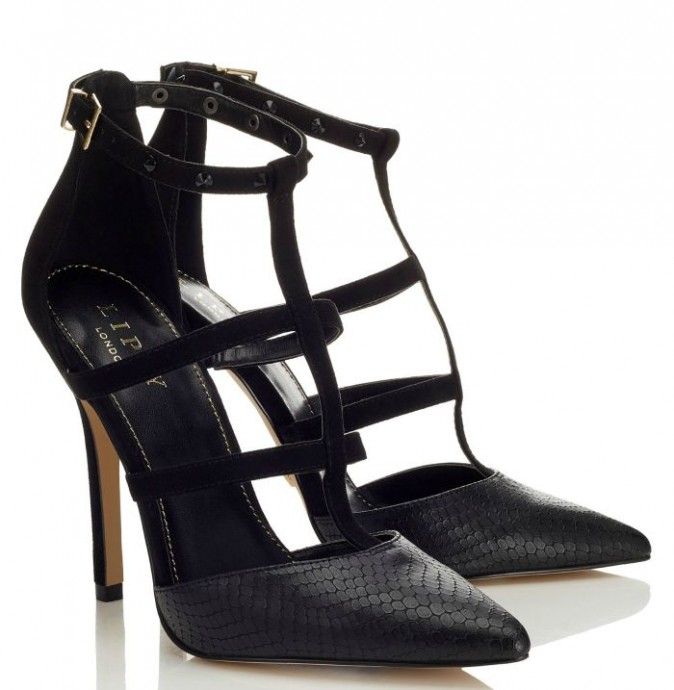 Shoesday: Caged Heels