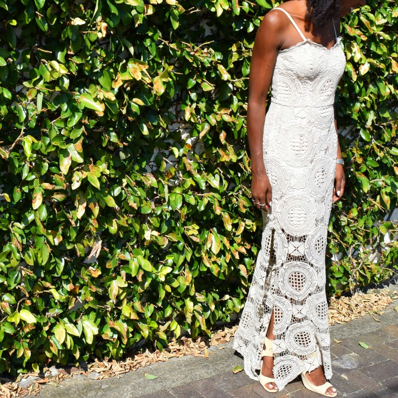 My Style: The Lace Maxi Dress