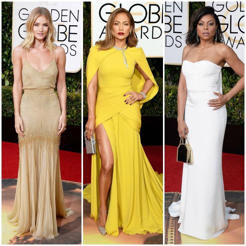 Golden Globes 2016 Top 10 Best Dressed