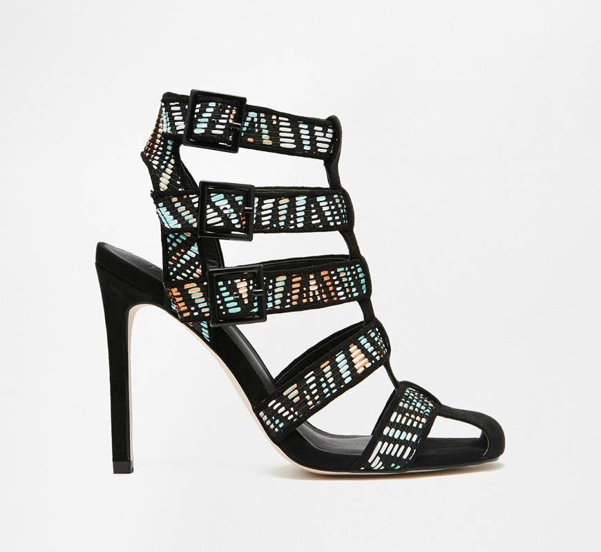 ASOS Emogen Caged Shoe Boots $89