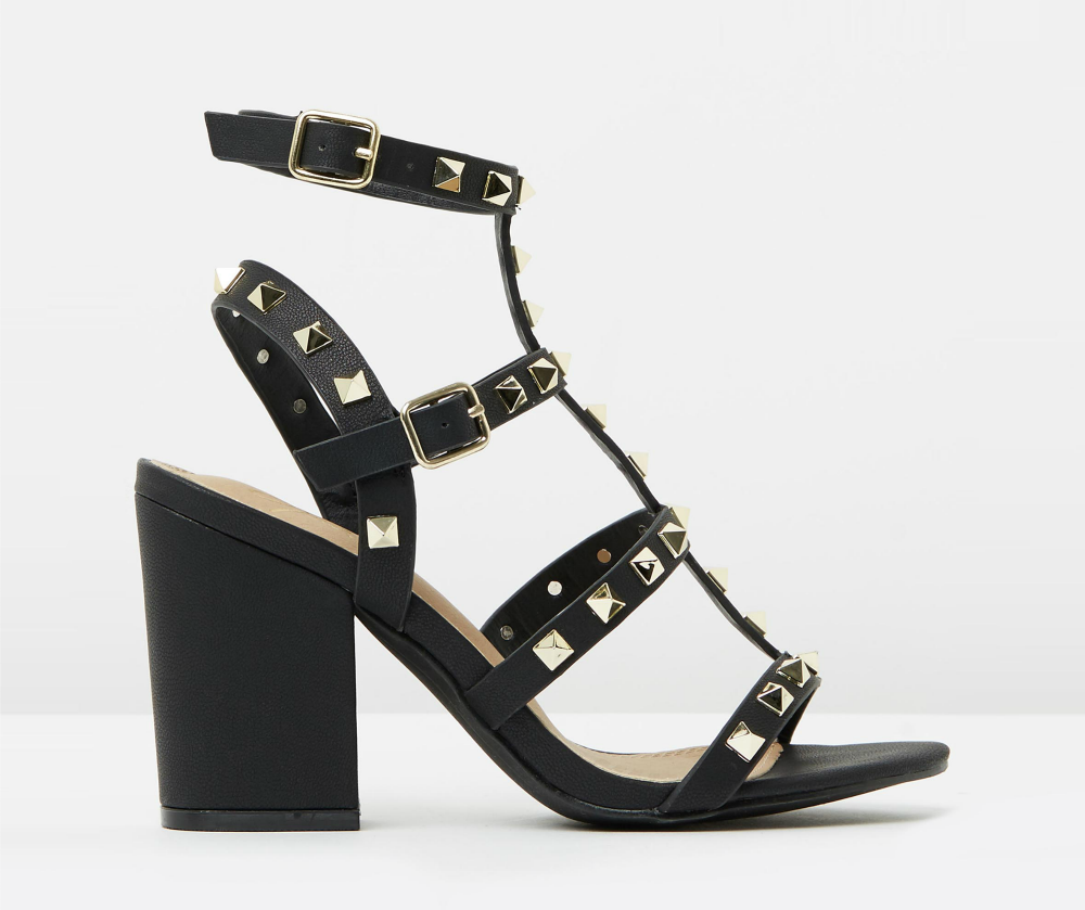 Spurr Elkie Studded Heels Was $59.95 Now $29.98