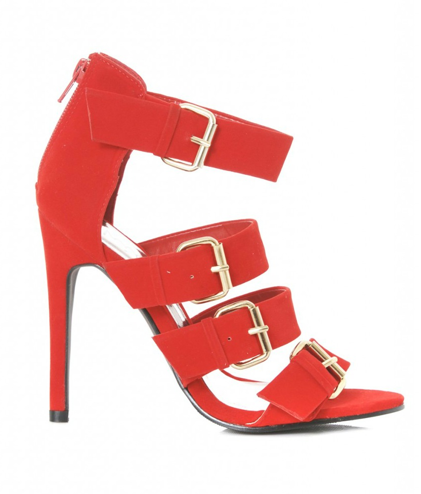 AX Paris Strap Heels Was $70 Now $40