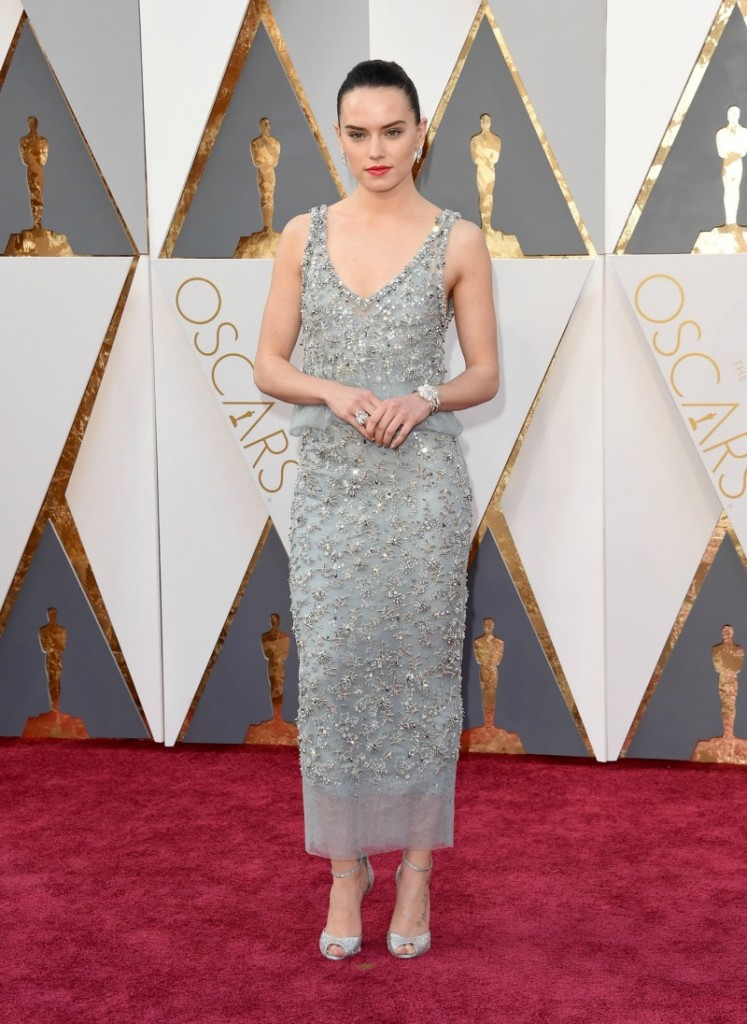 Daisy Ripley in Chanel Haute Couture