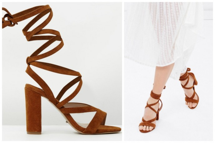 Shoesday: Tony Bianco Kappa Lace Up Block Heel