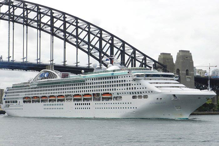 All Aboard the Sun Princess with Princess Cruises Australia