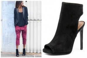 Tuesday Shoesday: Wanted Carella Peep Toe Boots