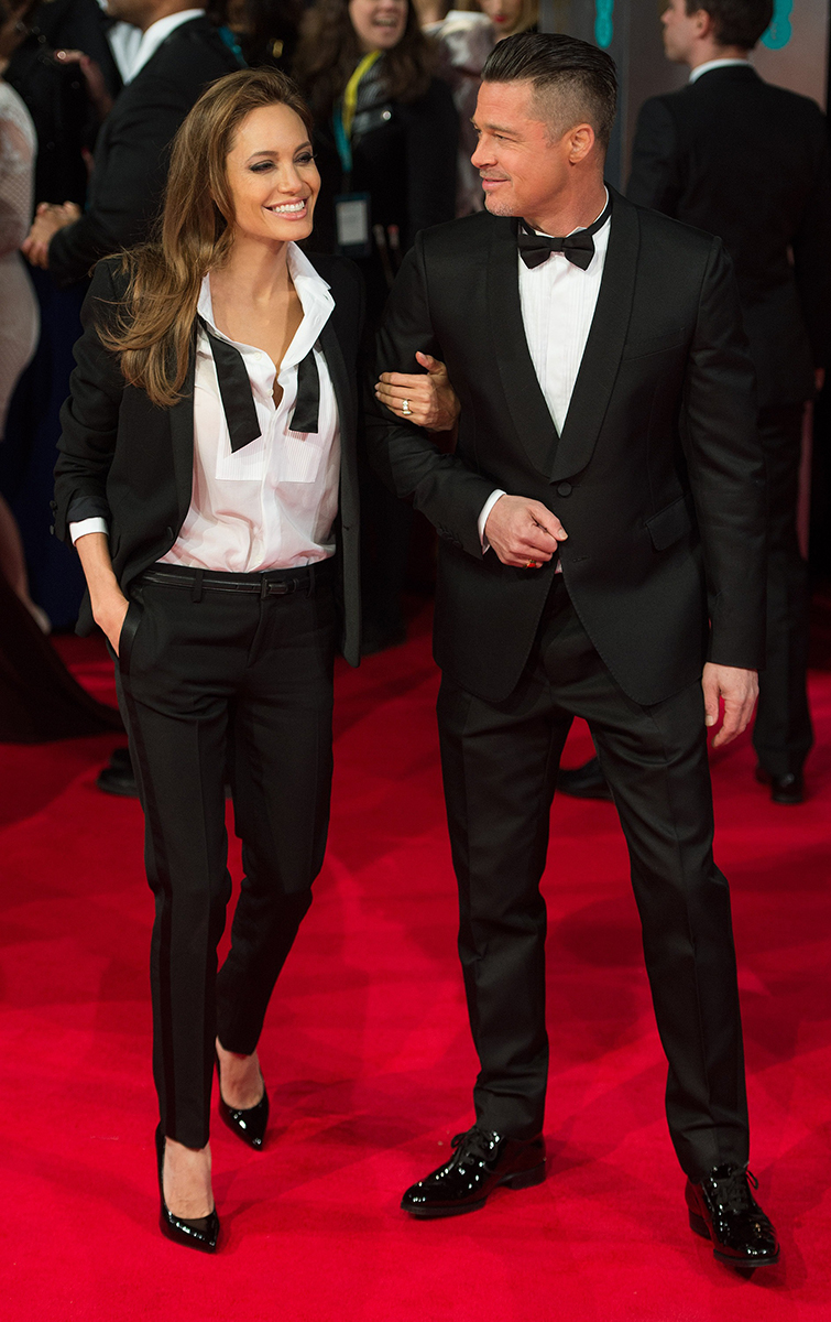 Brad Pitt and Angelina Jolie Best Red Carpet Looks