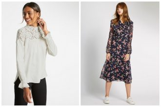 Shop Spring Fashion Essentials via Marks and Spencer