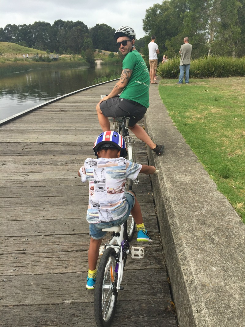 Family Fun with Sydney Cycleways