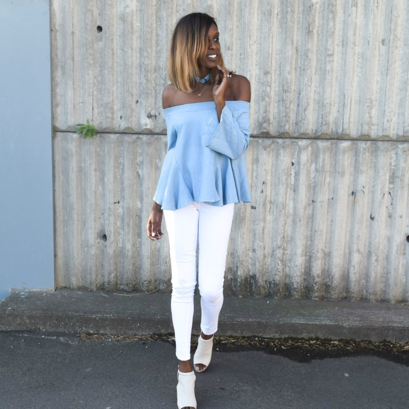 Bargain of the Week: Romwe Off the Shoulder Top
