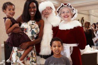 Santa at the QVB